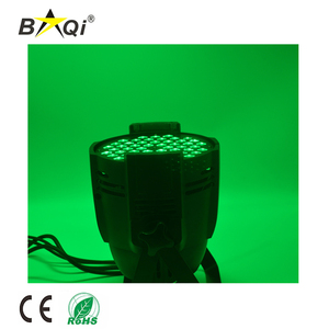 High Brightness 54 3w RGBW DMX mixing color project lighting led par light