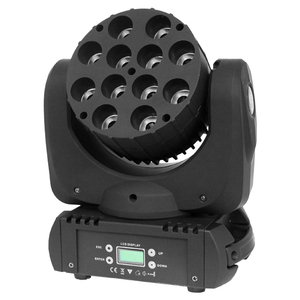 dj moving heads light 12 PCS RGBW 4-IN-1 RGBW 12*10W LED beam moving head light