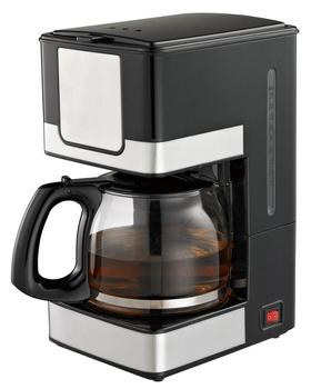 1.5L 900W 10-12 cup drip coffee maker with stainless steel decoration