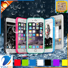 Hot selling colourfull soft tpu silicone outdoor sport waterproof mobile cover for iPhone 6 6s 6 plus 6s plus