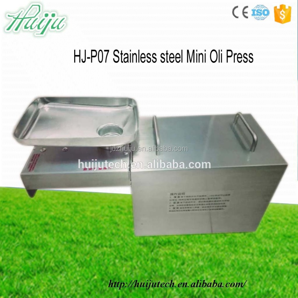 Best selling Household 3.5kg/houroil press machine olive oil press for sale HJ-P07