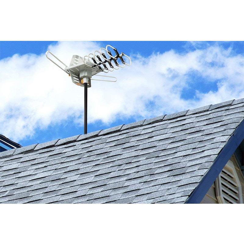 40-890MHz outdoor digital tv antenna 360 degree 150 miles range yagi Outdoor TV Digital Aerial/Antenna