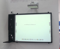 Virtual Electric Touch Screen Interactive Whiteboard with PC