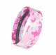 Non-slip silicone hair band camo elastic hair accessories sports headband