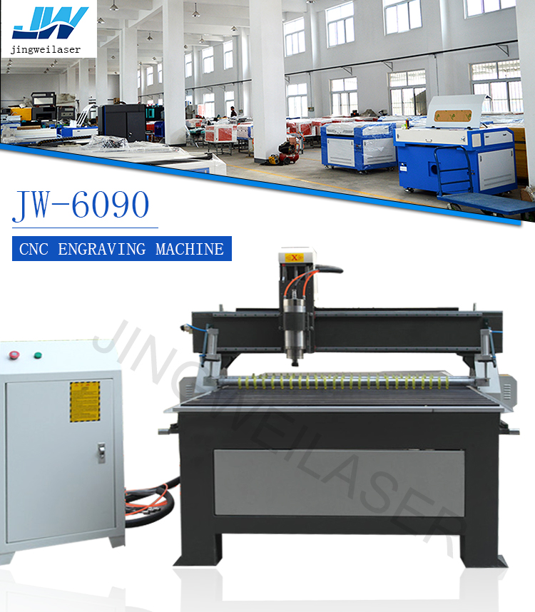 6090 CNC laser engraving machine for wood/plastic working