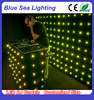 Hot sale LED video curtain P20 led curtain for dj booth