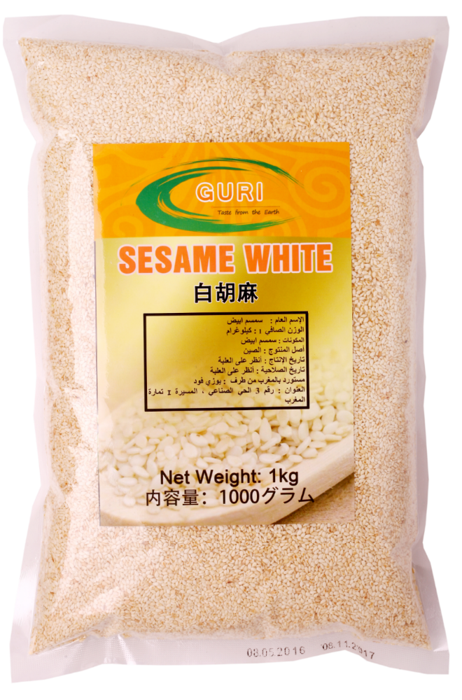 100% Roasted White Sesame seeds 1kg