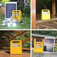Factory direct sale Mini 10W portable solar system for outdoor activity and camping