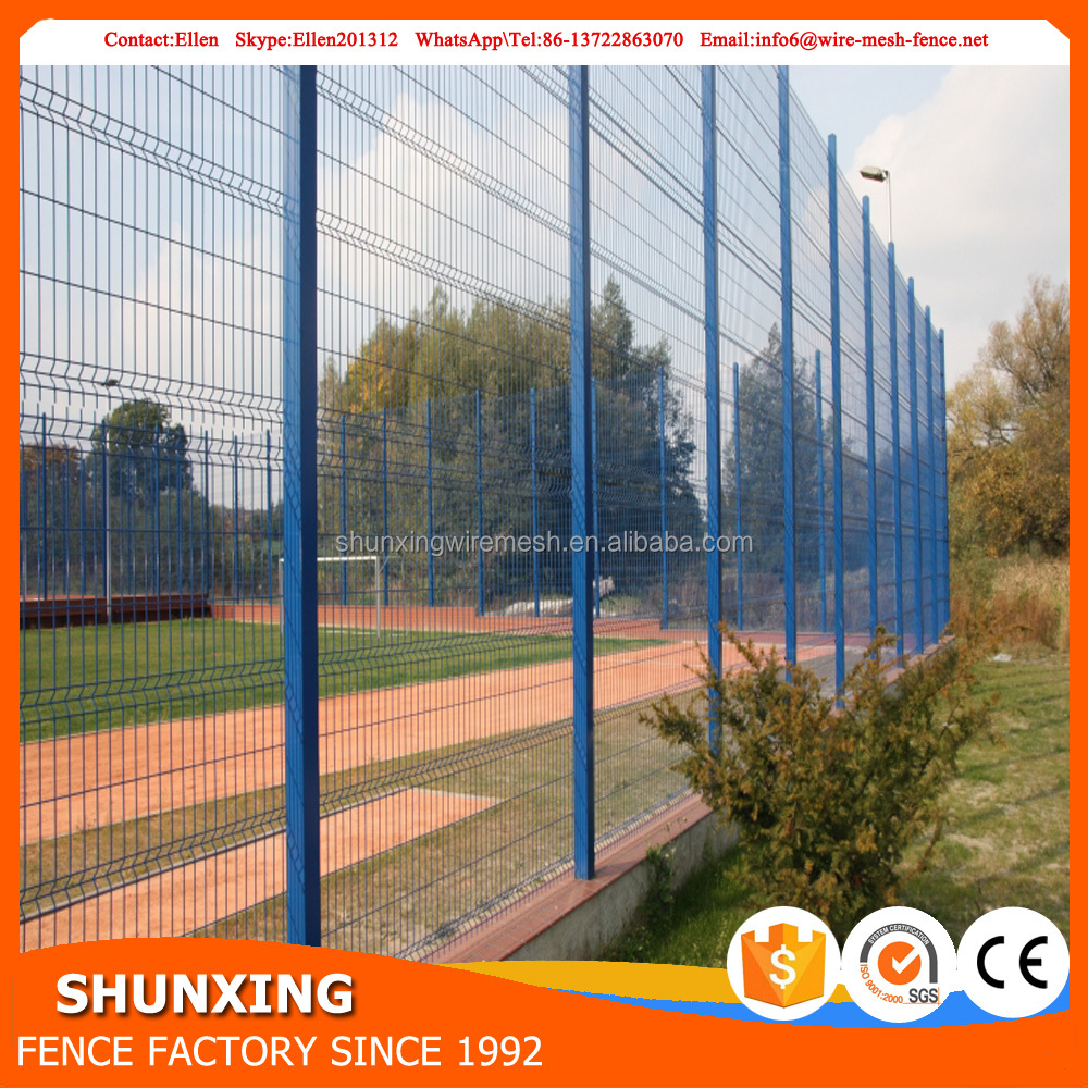 China factory supply garden cheap wire fence panel and fence post
