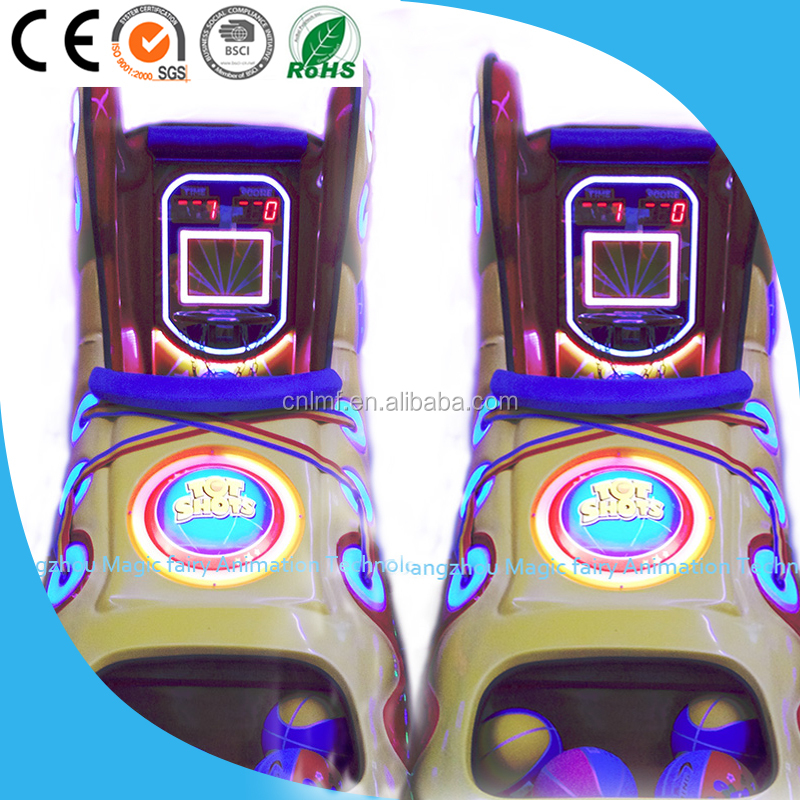 kids basketball/ coin operated simulator game machine for game center