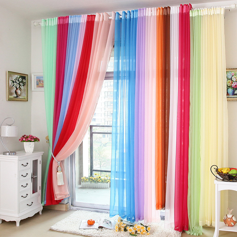 25 Ethnic Home Decor Ideas: Sheer Curtain Ideas For Living Room