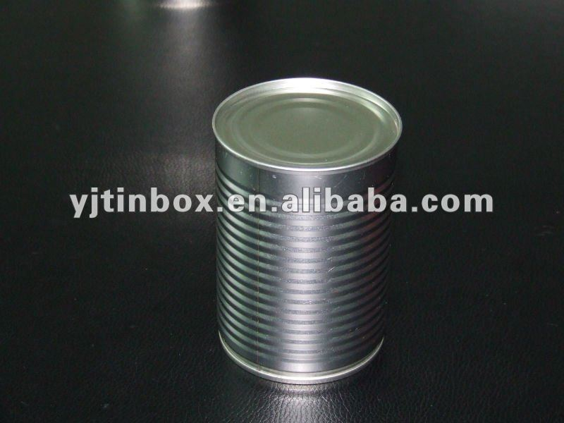 empty round plain soft drink box tin old pop cans