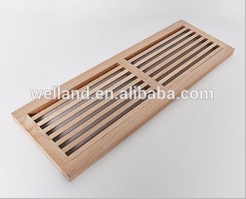 Ventilation Wooden Floor Vent Grille