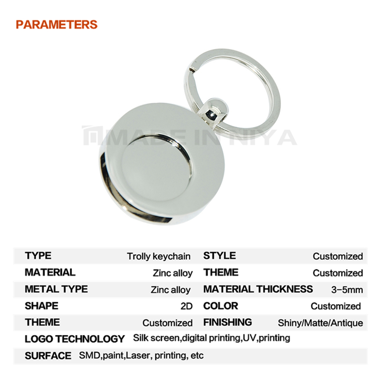 Personalized India Multi Color Coin Connector Halloween Keychain Code For Custom