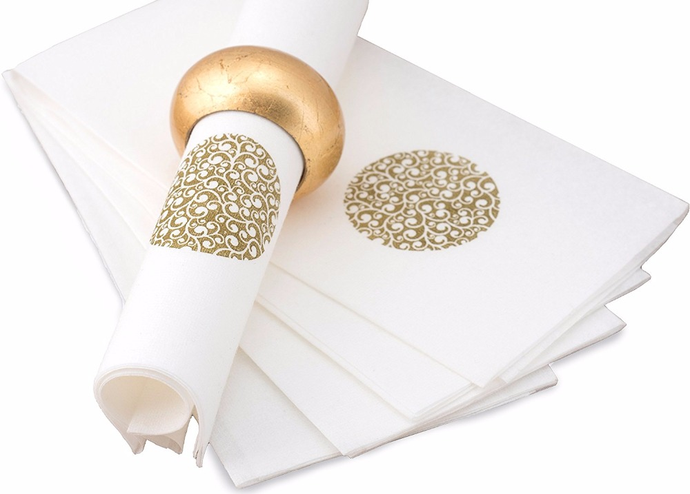 Airlaid paper & dinner napkin & linen feelguest towel paper