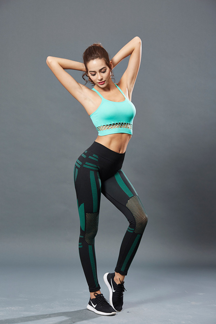 Sexy Woman Color Sport Tops 10