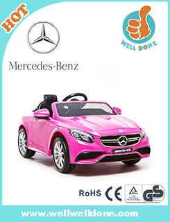 WDYH818 Battery Operated 12V Ride On Car Licensed Mercedes A45 Electric Vehicle