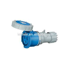Factory Direct Sales IEC Economic Type 16A IP67 Waterproof Female Industrial Plug