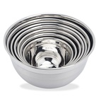 Multi functional kitchen set stainless steel salad bowl
