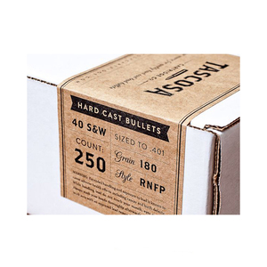 Custom fancy self adhesive kraft paper sticker label for box seal