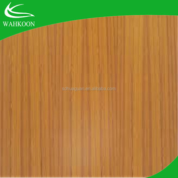 Round Particle Board Table Top From WAHKOON Group High Quality Teak  Veneered Plywood Cheap Price