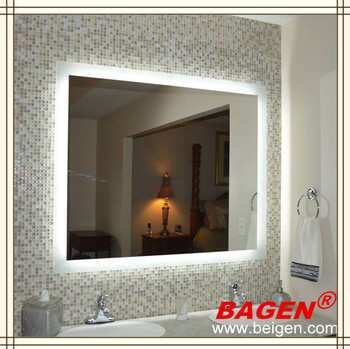Kinds Of Back Lighting Mirrors In Bathroom Bathroom Decorative Wall Mirror Made In Shanghai
