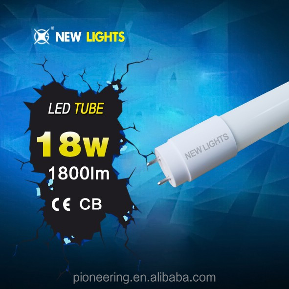 led tube light 18w T8 glass led tube 1200mm 18w t8 led tube 86-265v <strong>ac</strong>
