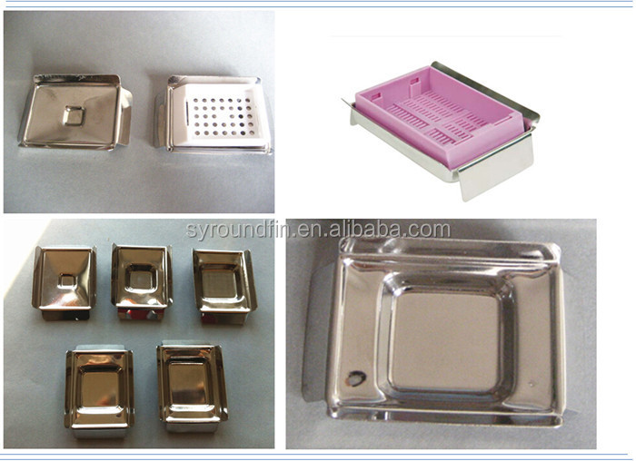 Reusable Metal Tissue Embedding Molds Histology Cassettes Base Molds - Buy  Wholesale Reusable Metal Tissue Embedding Molds,Cassettes Base