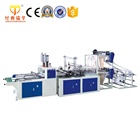 Automatic Plastic Bag Production Line, Bottom Sealing T-shirt Bag Making Machine
