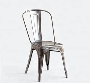 hot selling iron vintage dining metal chair