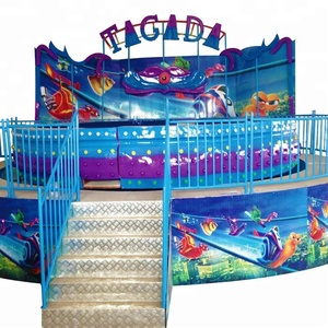 30P children amusement park outdoor equipment disco tagada rides for sale