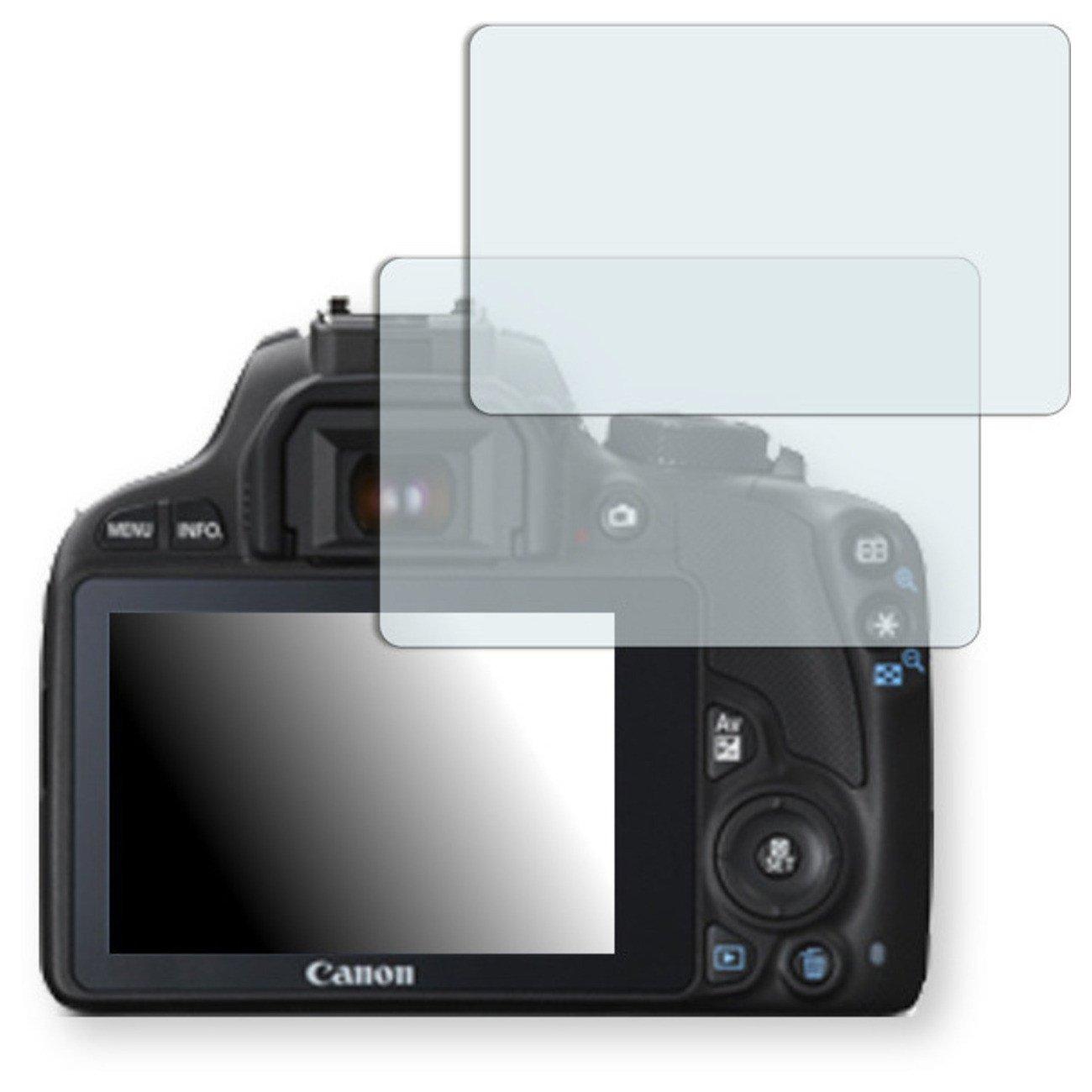 2x Golebo Anti-Glare screen protector for Canon EOS SL1 (Anti-Reflex, Air pocket free application, Easy to remove)