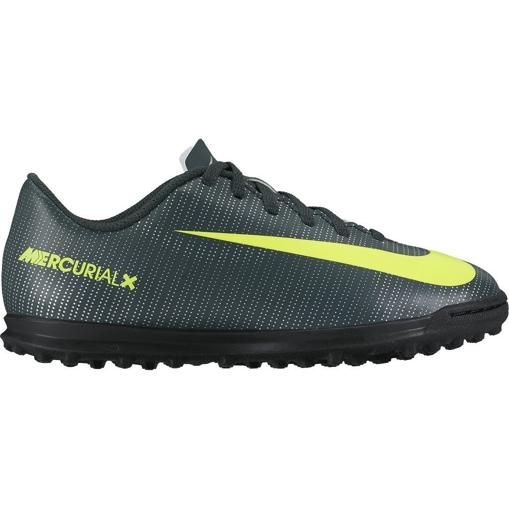 a7aa61ecddfe Get Quotations · JR MercurialX Vortex III CR7 TF Astro Turf Trainers