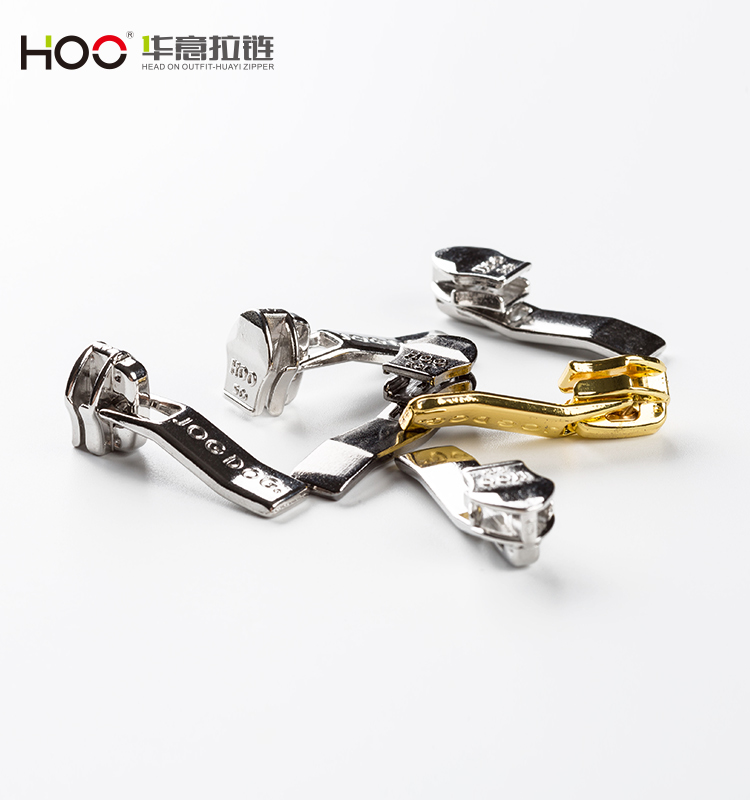 2018 Fashion garment accessories gold colour metal zipper puller