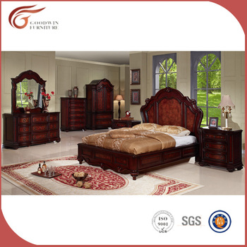 Beautiful Classic Bedroom Furniture Set From Factory, Top Class Quality  Antique Bedroom Furniture (WA137