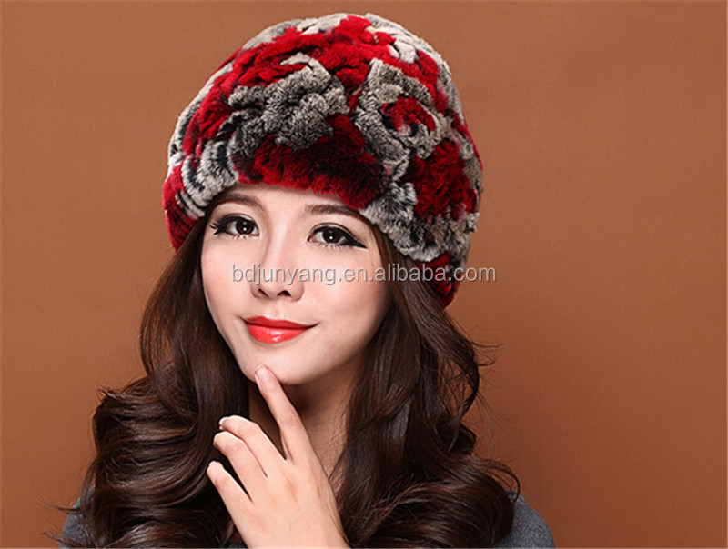 dd110385f6f free animal hat knitting patterns funny winter ski hat fur hat made in china