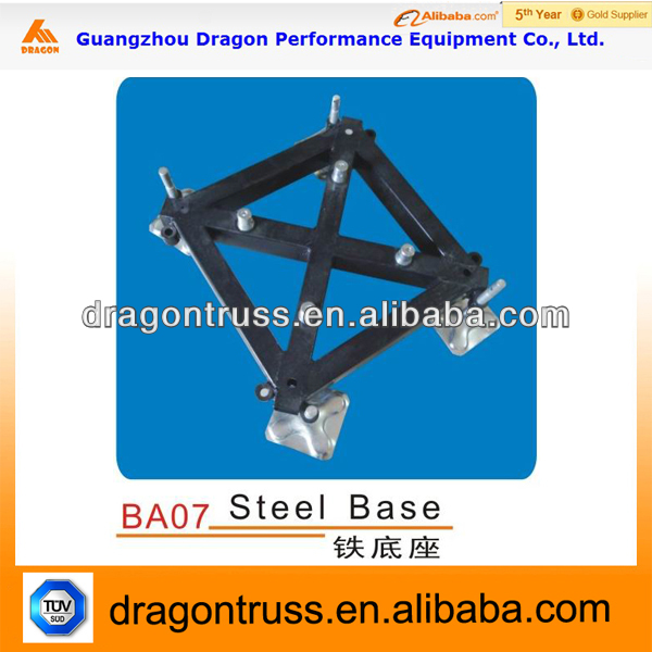 tower truss accessories,used steel base for truss