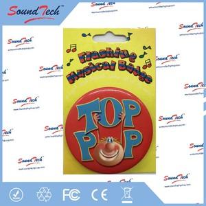 Custom made mini clothing badge bollywood hindi mp3 songs, tinplate badge
