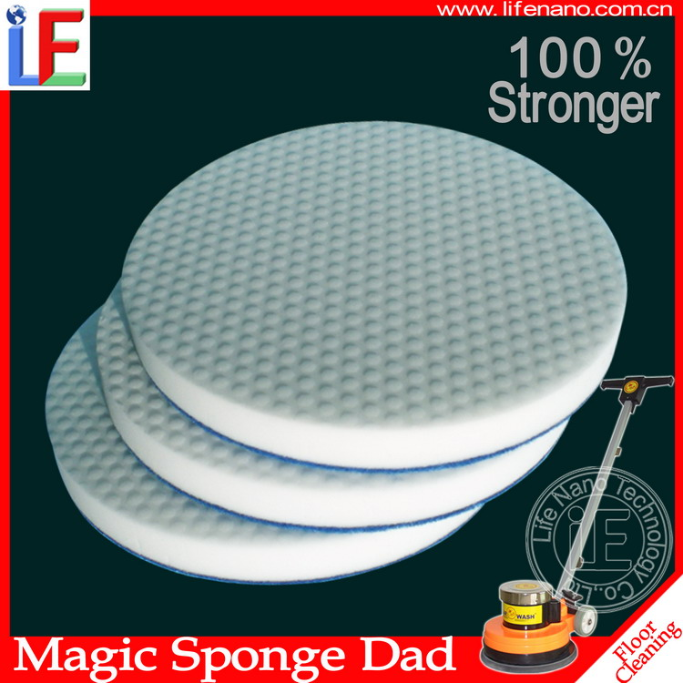 America Imported Floor Tiles Cleaning Magic sponge Scouring Pad For Floor Cleaning