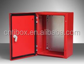 Plexiglass Door And Inner Door Metal Distribution Box Wall Mount  Distribution Box