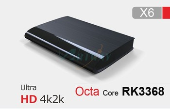 Rockchip RK3368 Octa Core A53 Android 5.1 TV box with HDMI2.0 4K Streaming Player Smart TV Boxes