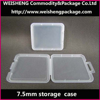 Plastic clear SD card packaging/charger memory container/transformers usb flash drive memory