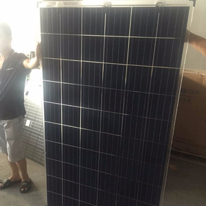 Alibaba TOP 1 black solar panel,dual glass poly panels 250w 255w 265w 280w 290w polycrystalline double glass solar panel