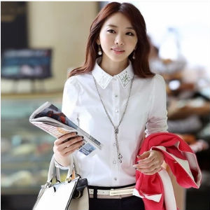Latest Formal Shirts Design For Women Pictures Of White Shirts For ...