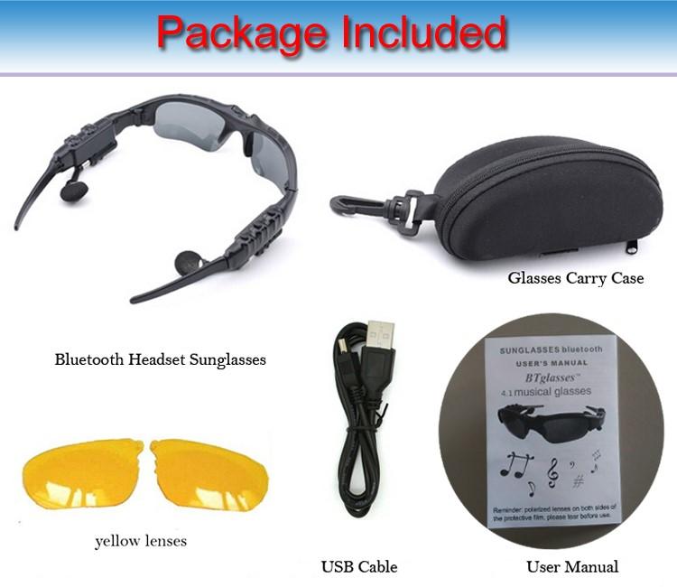 Estéreo Deportes Wireless Bt 4,0 Auriculares De Teléfono Polarizado Gafas De Sol De Conducirmp3 En Los Ojos Gafas Buy Auriculares Baratos Para