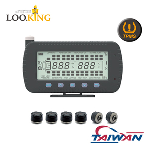 TAIWAN Solar TPMS for Truck 46 Tires External Sensors tire pressure