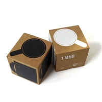 Corrugated paper cup coffee mug mailer gift packaging box