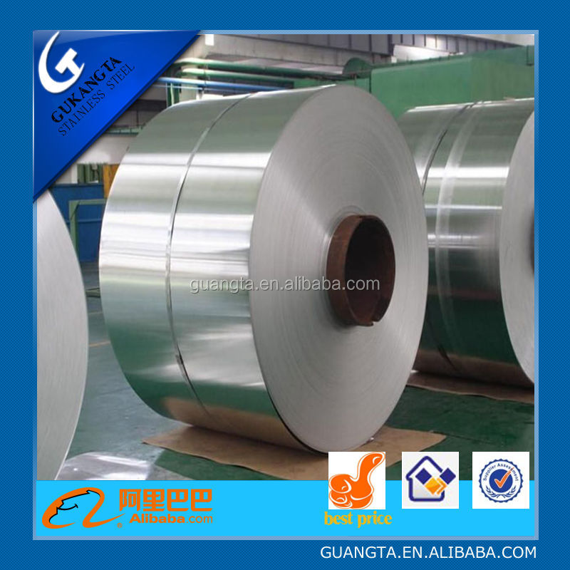 jieyang factory price cold rolled stainless steel coil 201