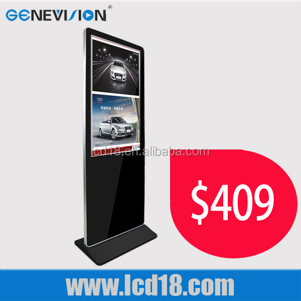 42 inch shopping mall lcd advertising display digital signage indoor kiosk