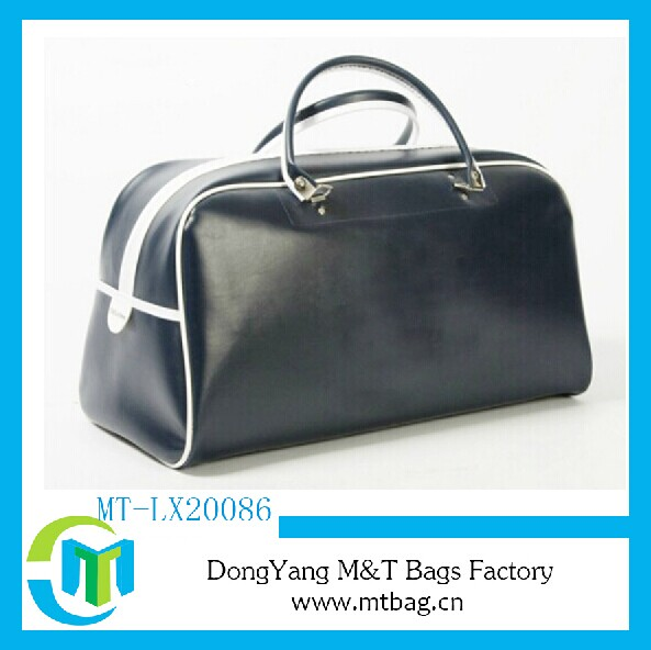 High quality puleather OEM gym bags personalized sports bag for men